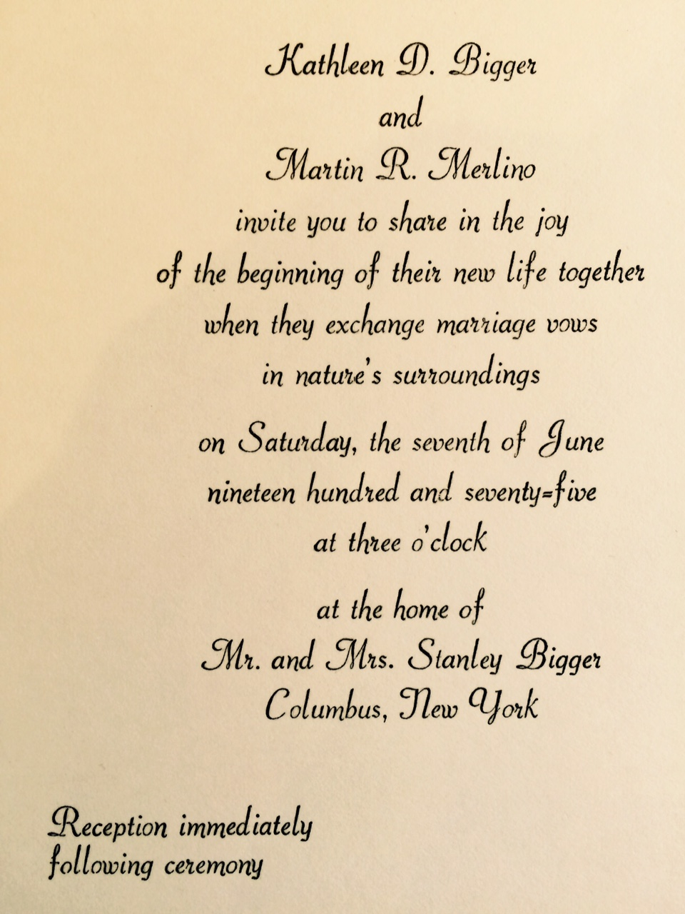 1970s: A Brief History of Wedding Invitations – Wedding Invitations