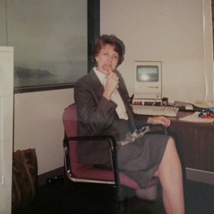 Me in my Seattle office circa 1989
