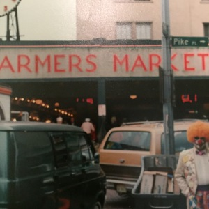 Pike Place Market in Seattle circa 1988
