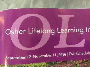 OLLI Fall Term