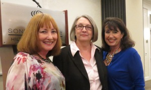 Kathy Reynolds, Me and Lilabeth Parrish